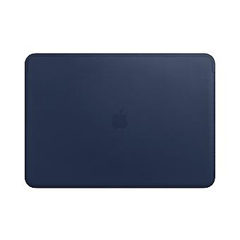 Apple Leather Sleeve for 15?inch MacBook Pro - Midnight Blue