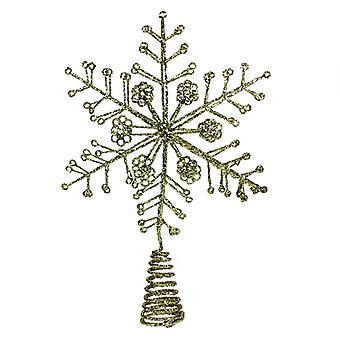 Gisela Graham Gold Christmas Tree Topper