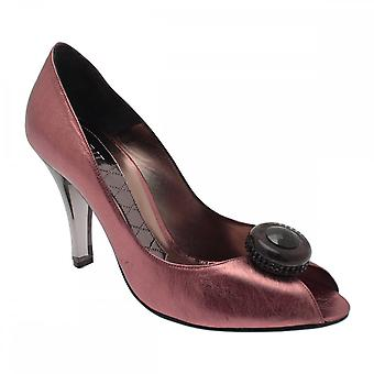 Magrit P/toe With Smokey Glass Heel