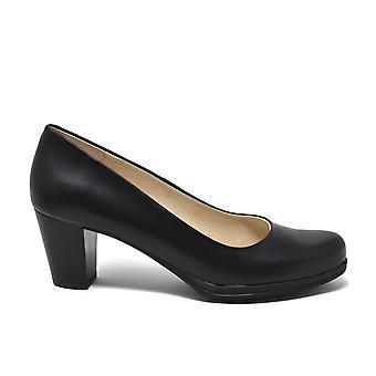 Liberitae Salon Salon shoes heel mid leather black 11803482-04
