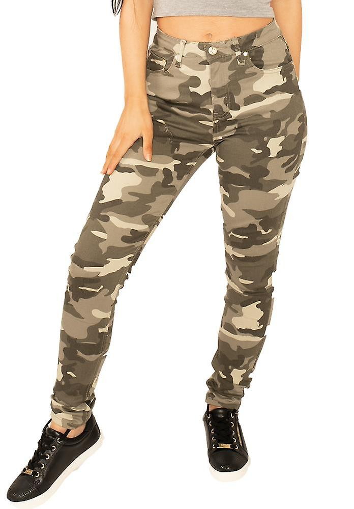Slim Camouflage Trousers