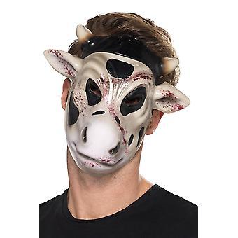 Demon vaca horror masca Carnavalul de Halloween accesoriu Evil vaca Killer masca