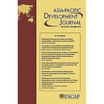 Asien-Stillahavsområdet utveckling Journal - December 2016 - volym 23 av Sverige