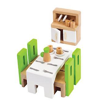 الممثل الكوميدي بوب هوب غرفة الطعام البراز الأخضر الدولاب الأبيض الجدول مع الأبواب أبيض