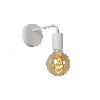 Lucide Scott Vintage Metal White Wall Light