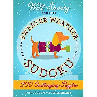 Vil Shortz præsenterer Sweater vejr Sudoku: 200 udfordrende gåder: svære Sudoku bind 2
