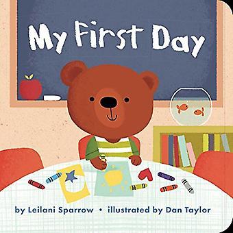 Min första dag (Mini Bee styrelsen böcker) [styrelse bok]