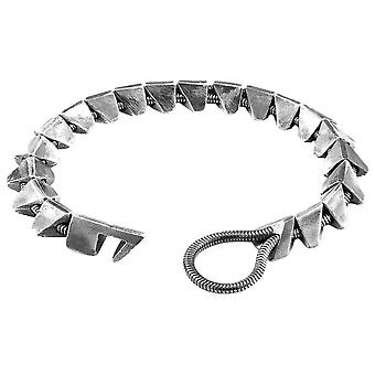 Anchor and Crew Brixham Maxi Chain Bracelet - Silver