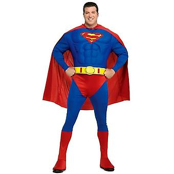 Superman Muscle adulte Plus Costume