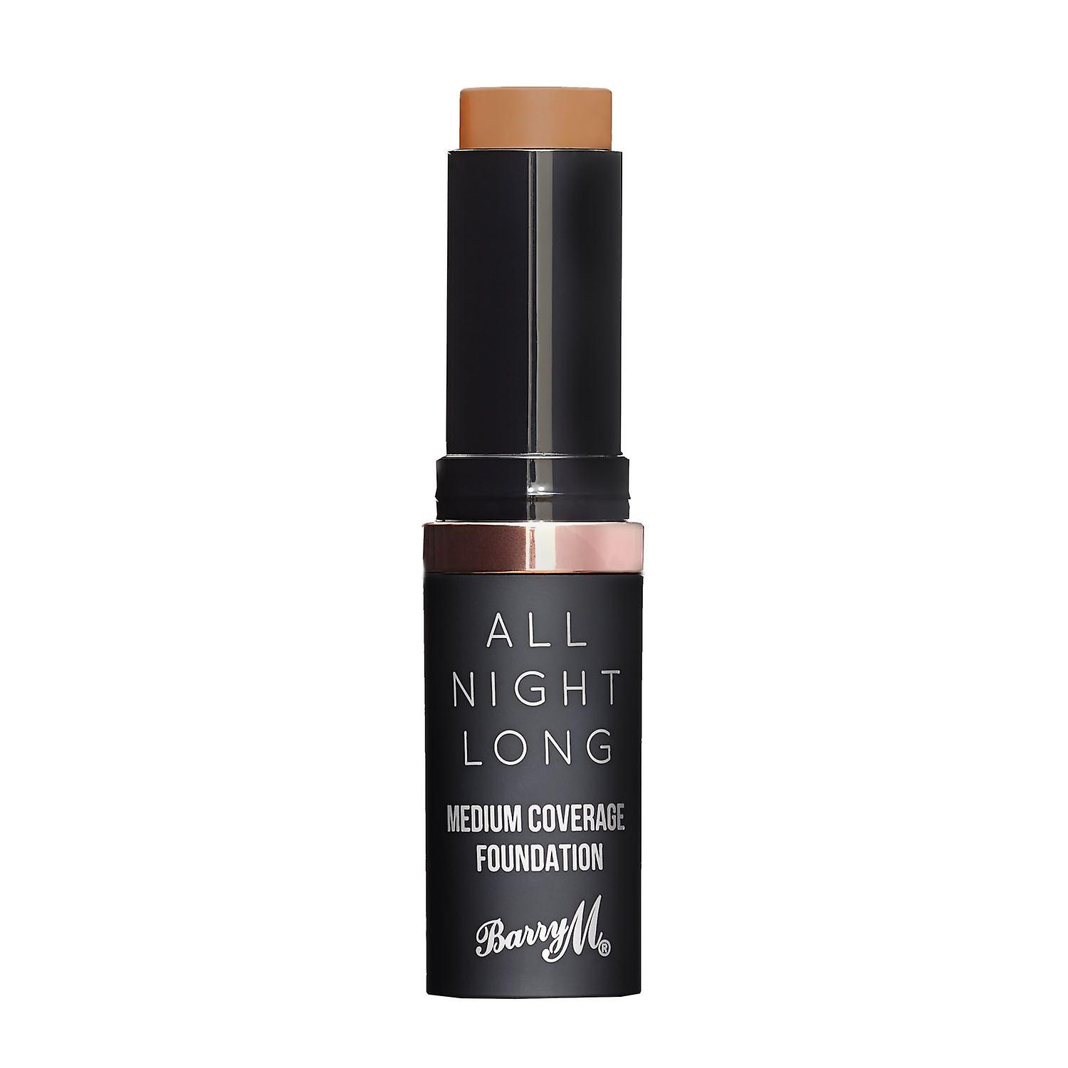 Barry M All Night Medium Coverage Foundation - Hazelnut
