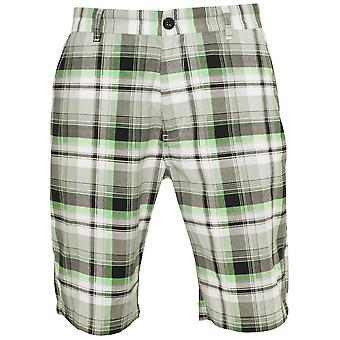Urban classics men's shorts big checked