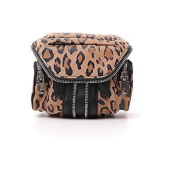 Alexander Wang 2028x0540s913 Donne's Leopard Leather Spalla Borsa