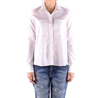 Jacob Cohen Ezbc054214 Damen's weißes Baumwollhemd