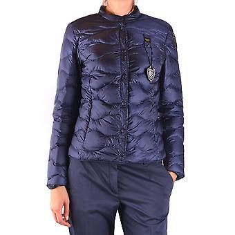 Blauer Ezbc068012 Women's Blue Nylon Outerwear Jacket