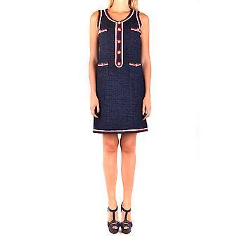 Robe Edward Achour Ezbc121007 Femmes-apos;s Blue Polyester