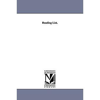 Leseliste. durch Carnegie Endowment for International Erbse