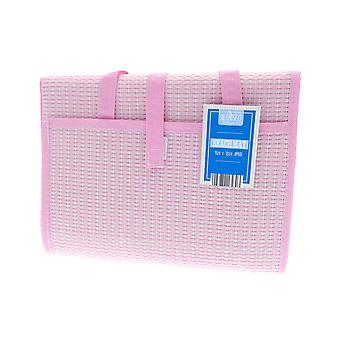 Country Club Beach Mat, Pink 90 x 180cm