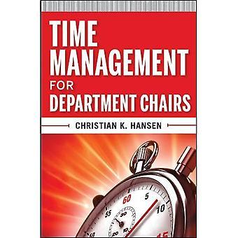 Zeitmanagement für Abteilung Stühle