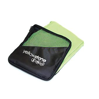 Yellowstone Microfibre Travel Bath Towel Green