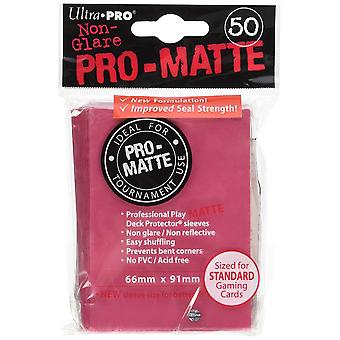 Ultra Pro SLEEVES Pro-Matte D12 Card Game Fuchsia