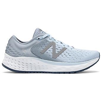 New Balance 1080v9 Fresh Foam Womens B Breite (Standard) High Cushioning Road Running Shoes Air Vintage Indigo