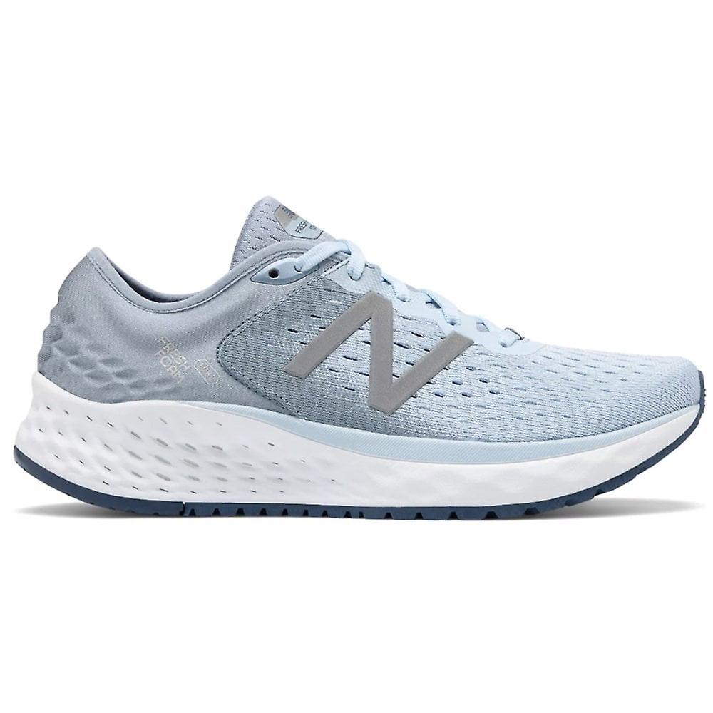 New Balance 1080v9 Fresh Foam Womens B Width (standard) High Cushioning Road Running Shoes Air Vintage Indigo