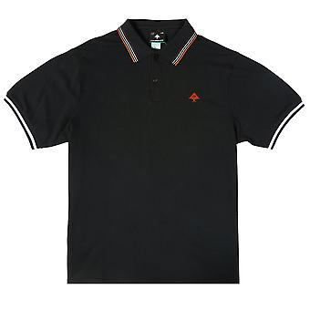 LRG Don't Cross Me Polo Shirt Black Beauty