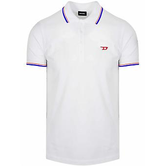Diesel White T-Randy New Polo Shirt