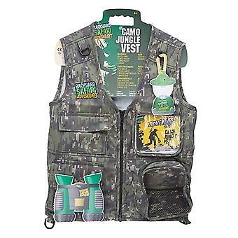 Bakgård Safari Camo Jungle Vest