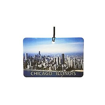 Chicago - Illinois Car Air Freshener