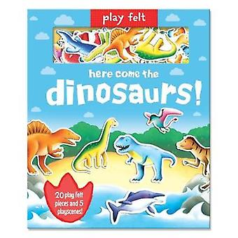 Play Felt - Dinosaurs by Play Felt - Dinosaurs - 9781787007482 Book