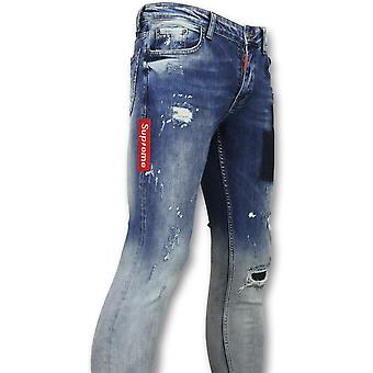 Jeans Slim - Stretch Jeans - 0 Blue