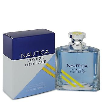 Nautica voyage heritage eau de toilette spray by nautica 542777 100 ml