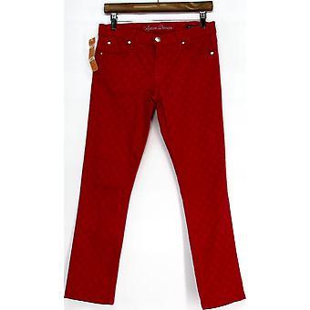 Agave kvinner ' s mid-Rise leggings jeans ekte røde kvinner
