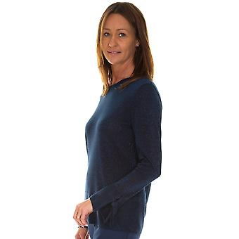 LEBEK Lebek Indigo Sweater 35400019
