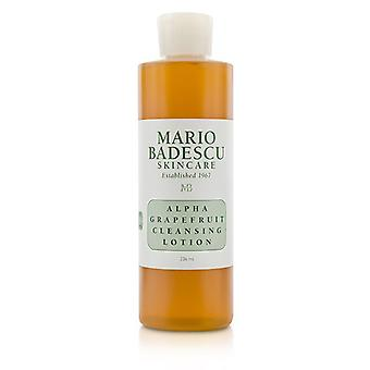 Mario Badescu Alpha Grapefruit Cleansing Lotion - For Combination/ Dry/ Sensitive Skin Types 236ml/8oz