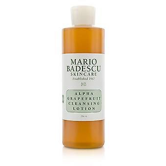 Mario Badescu Alpha grejpfruta Cleansing Lotion - dla kombinacji / 236ml / 8oz typy skóry suchej / wrażliwej