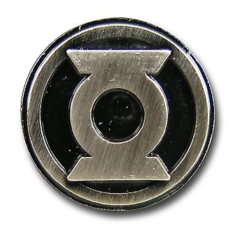 Green Lantern Symbol Pewter Lapel Pin