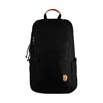 FJALLRAVEN R?ven 20 L حقيبة ظهر عادية - 45 سم - لتر - أسود (أسود)