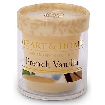 Francuski wanilia serca i domu znicz