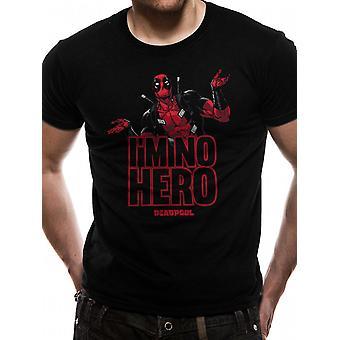 Marvel Deadpool - I ́m No Hero T-Shirt