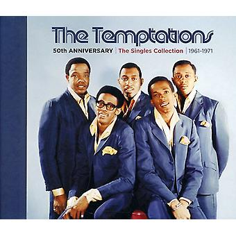 Temptations - 50th Anniversary: Singles Collection 1961-71 [CD] USA import