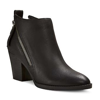 Dolce Vita Womens Jameson Leather Almond Toe Ankle Fashion Boots