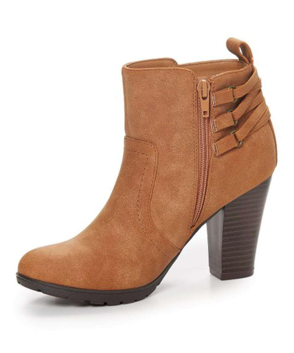 Rialto Womens sonny Fabric Closed Toe Ankle Fashion Boots