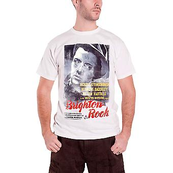 Billy Brighton Rock T Shirt vintage movie poster Official Studiocanal White