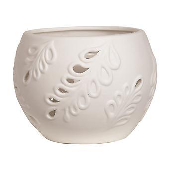 Aroma Leaf Globe Tealight holder