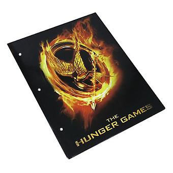 The Hunger Games Folder Burning Mockingjay Affiche