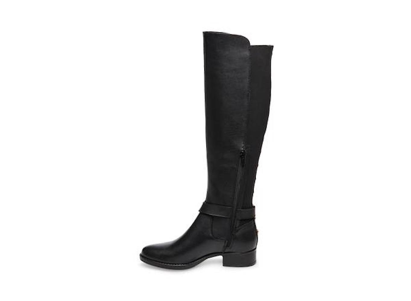 Steve Madden Womens Jadine Leather Almond Toe Knee High Fashion Boots