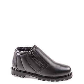 Chums Leder Wide Fit Twin Zip Boot