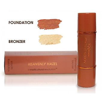 Mixed Chicks In The Mix Foundation / Bronzer - Heavenly Hazel